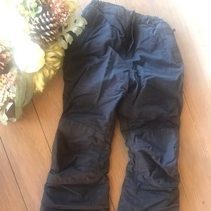 Black Lands' End Snow pants Girls Size 12